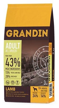 Корм для собак Grandin (3 кг) Adult All Breeds