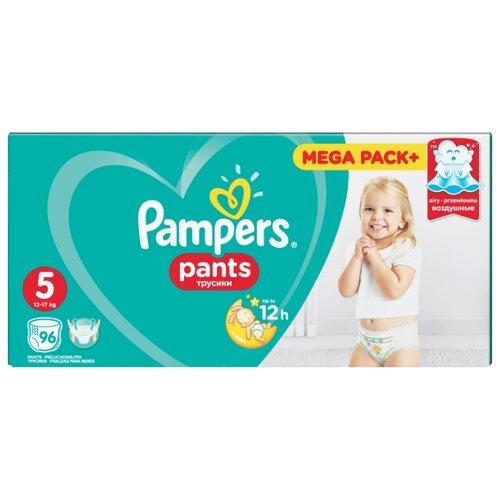 Купить Pampers трусики Pants 5 (12-17 кг) 96 шт., Подгузники