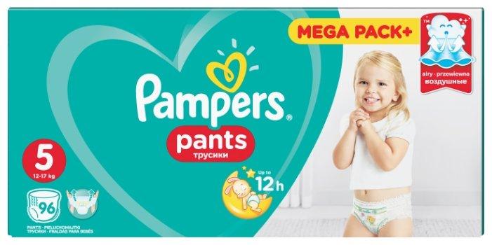 Pampers Pants Трусики 12-17 кг (размер 5) 96 шт