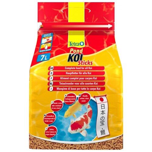Сухой корм для рыб Tetra Pond Koi Sticks 7000 мл сухой корм для рыб tetra pond koi sticks 15000 мл