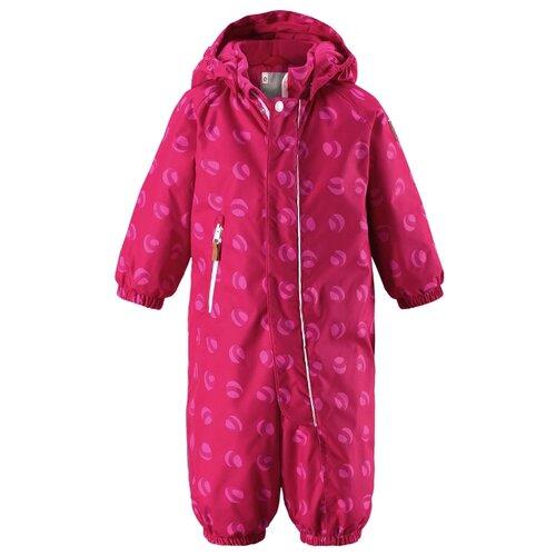 Купить Комбинезон Reima Puhuri 510262 размер 74, розовый с принтом, Теплые комбинезоны