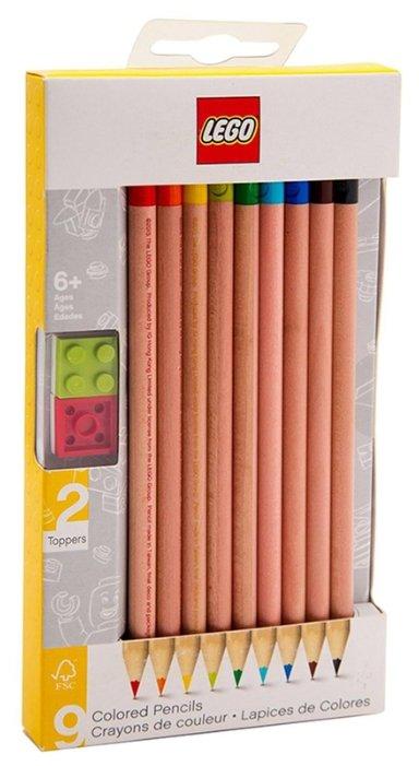 LEGO Цветные карандаши 9 цветов (51515)