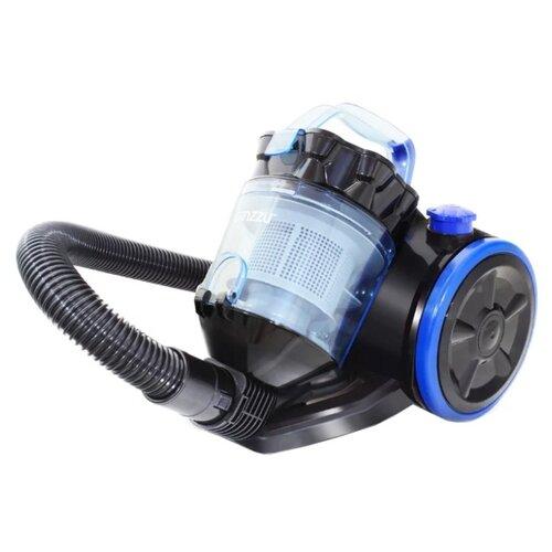 Пылесос Ginzzu VS424 черный/синий