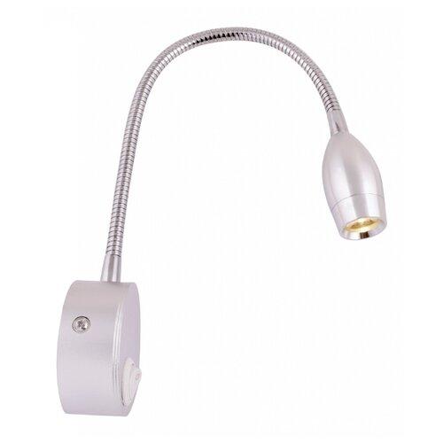 Бра Arte Lamp Scorcio A7005AP-1SS, с выключателем, 3 Вт arte lamp светильник спот artelamp a7005ap 1ss
