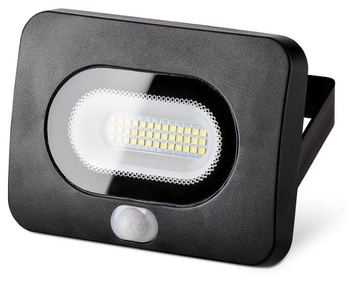 Прожектор светодиодный с датчиком движения 20 Вт Wolta WFL-20W/05s