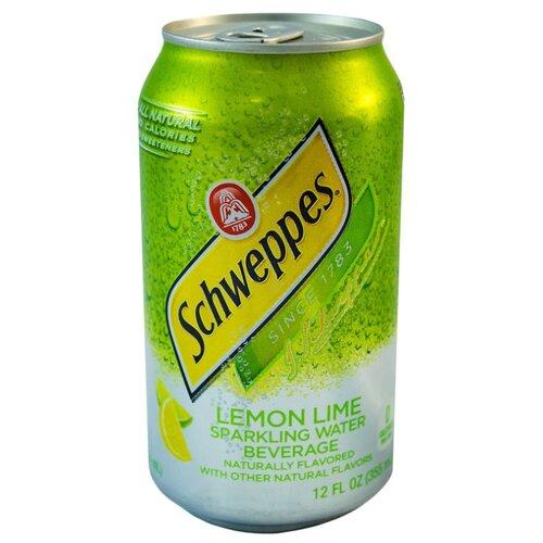 Газированный напиток Schweppes Lemon Lime, США, 0.355 л schweppes индиан тоник напиток сильногазированный 1 5 л