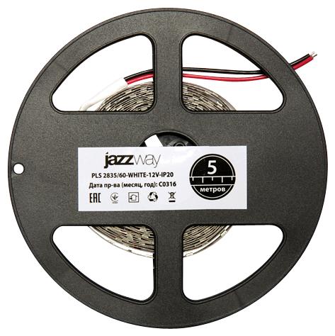 Светодиодная лента jazzway PLS 2835/60-BLUE IP20 5 м