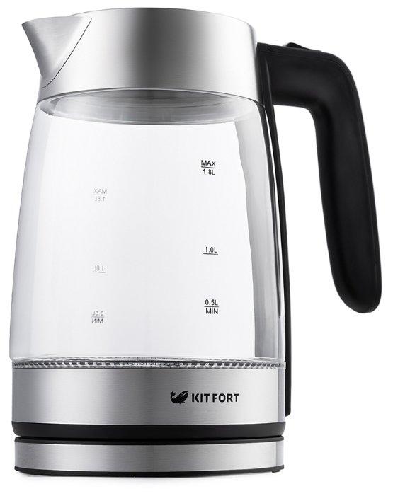 Kitfort KT-641. Чайник для слабой проводки