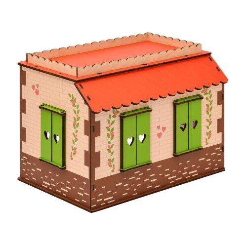 ЯиГрушка кукольный домик Маленькая мечта 59831, коричневый яигрушка ятаган