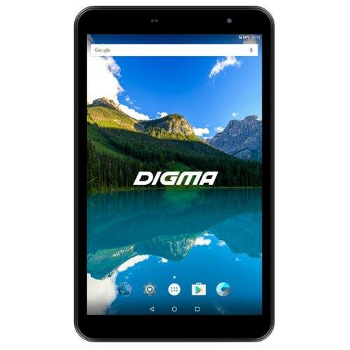 Планшет DIGMA Optima 8019N 4G черный графический планшет digma magic pad 100 white mp100w