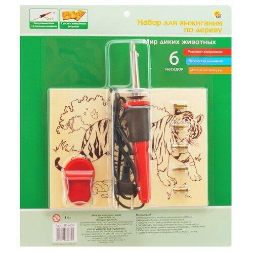 Рыжий кот Набор для выжигания Мир диких животныхВыжигание и выпиливание<br>