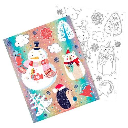 Наклейка интерьерная Феникс Present Веселые животные 30 x 38 см