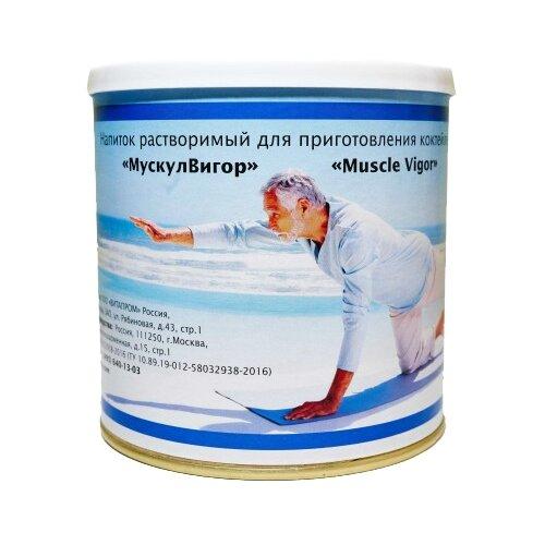 ВИТАПРОМ Напиток растворимый для приготовления коктейлей Мускул Вигор, 350 г вигор косметика сайт москва