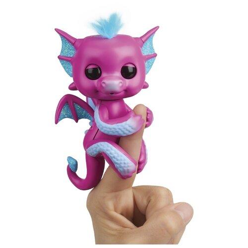 Купить Интерактивная игрушка робот WowWee Fingerlings Дракон сенди, Роботы и трансформеры