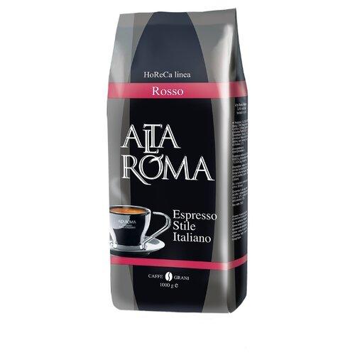 Кофе в зернах Alta Roma Rosso, арабика/робуста, 1000 г