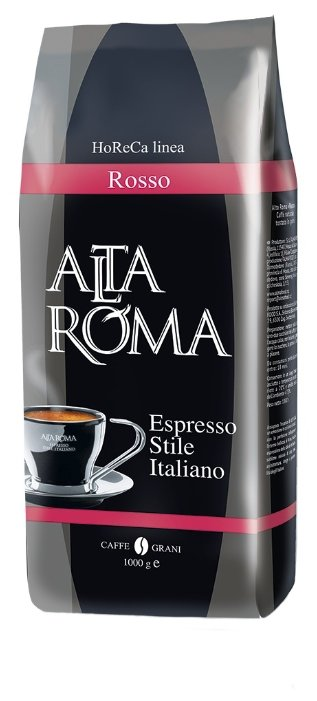 Кофе в зернах Alta Roma Rosso