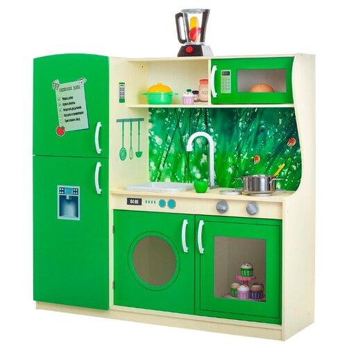 Купить Кухня PAREMO PK218/PK218-01/PK218-02/PK218-03/PK218-04/PK218-05/PK218-06/PK218-07 зеленый, Детские кухни и бытовая техника