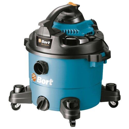 Профессиональный пылесос Bort BSS-1330-Pro 1300 Вт черный/голубой jabra pro 9450 flex duo 9450 29 707 101