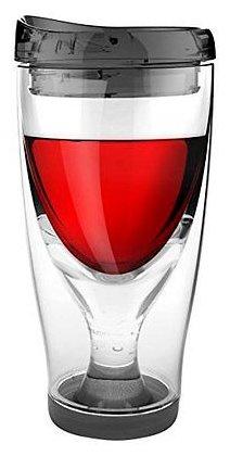 Asobu Бокал для вина Ice Vino 2go 0.48 л зеленый