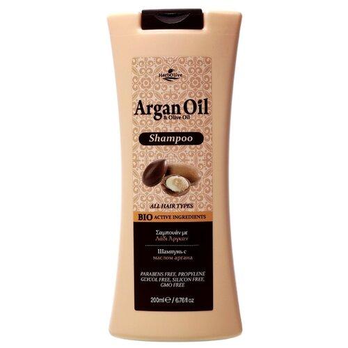 Madis шампунь HerbOlive с маслом аргана для всех типов волос 200 млШампуни<br>