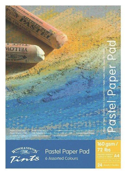 Альбом для пастели Winsor & Newton Tints 29.7 х 21 см (A4), 160 г/м², 24 л.