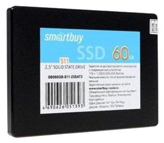 Твердотельный накопитель SmartBuy S11 60 GB (SB060GB-S11-25SAT3)
