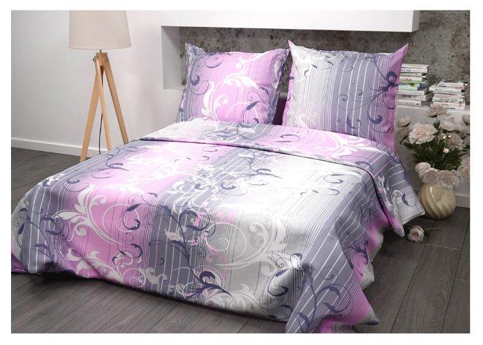 Постельное белье 2-спальное Guten Morgen Симфония розовая бязь