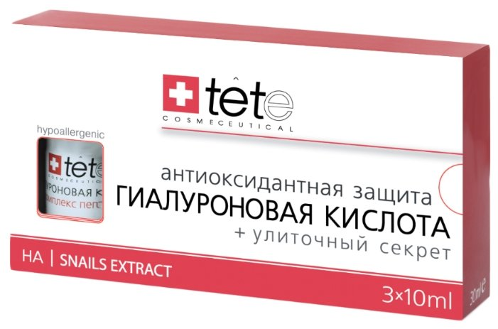 TETe Cosmeceutical Hyaluronic Acid + Snail Extract