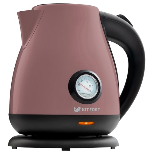Фото - Чайник Kitfort KT-642-4, лиловый чайник kitfort kt 642 1 розовый 2200 вт 1 7 л