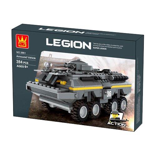 Конструктор Wange Legion 3661 Боевая машина пехотыКонструкторы<br>