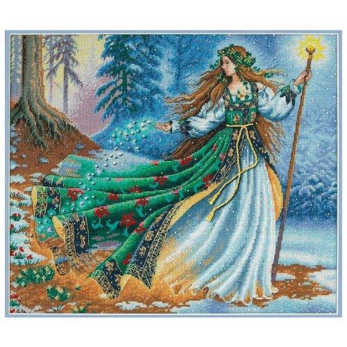 Купить Dimensions Набор для вышивания Woodland Enchantress (Лесная колдунья) 36 х 30 см (35173), Наборы для вышивания