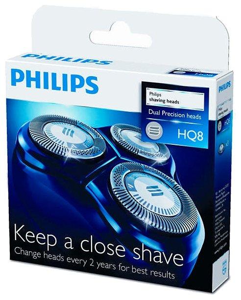 режущий блок и сетка HQ8 для Электробритвы Philips HQ8445/HQ8825/HQ8830/HQ5705/HQ5710/PT715/PT720 (2 шт)