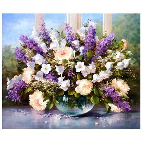 Купить Paintboy Картина по номерам Весенний букет 40х50 см (G53), Картины по номерам и контурам