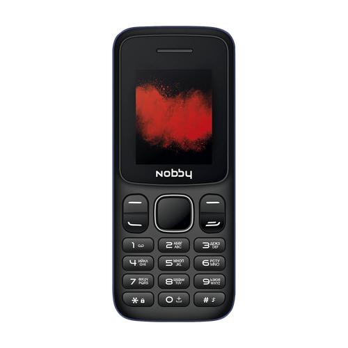 Телефон Nobby 100 черный / синий (NBP-BP-18-02)