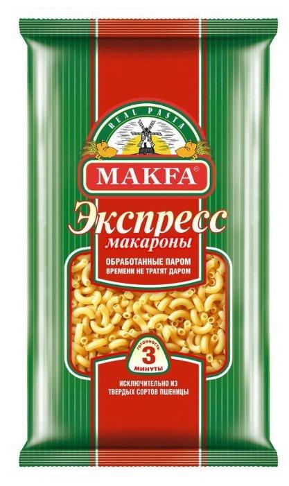 Макфа Макароны Экспресс рожки, 400 г