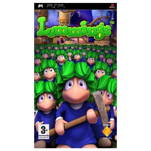 Игра для PlayStation Portable Lemmings