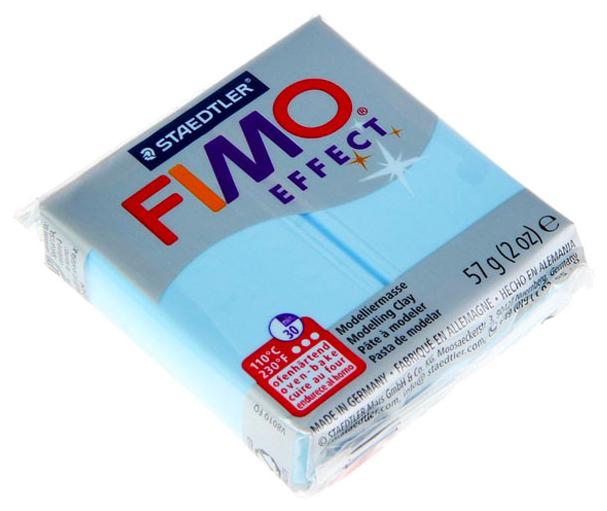 Полимерная глина FIMO Effect запекаемая вода (8020-305), 57 г