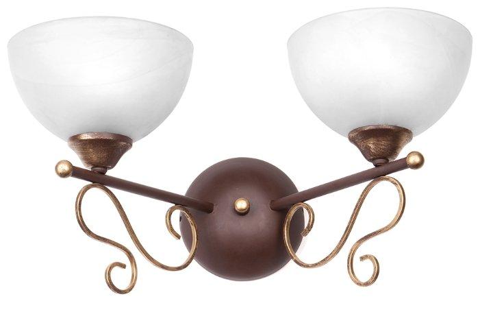 Бра Omnilux OML-35121-01, настенный светильник, стиль: Классический