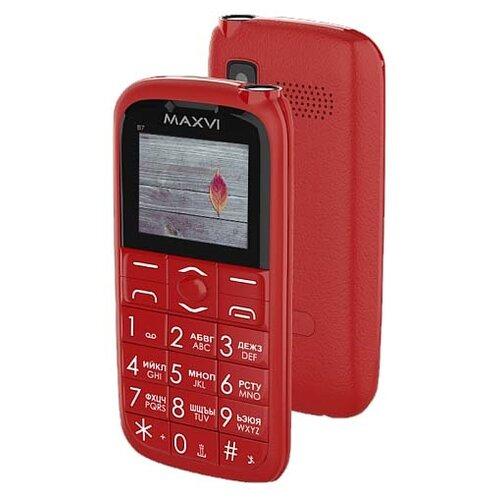 Телефон MAXVI B7 красный