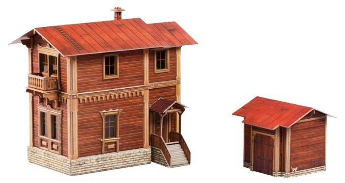 Сборная модель Умная Бумага Сторожевой дом (446),,