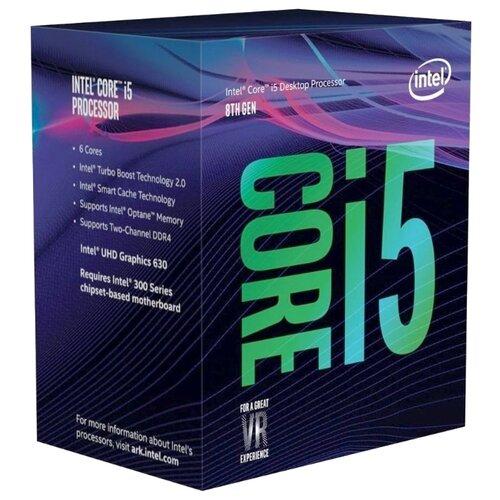 Купить Процессор Intel Core i5-8500 Coffee Lake (3000MHz, LGA1151 v2, L3 9216Kb) BOX