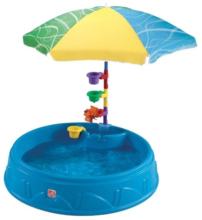 Песочница-бассейн Step2 Бассейн с зонтиком (716000)