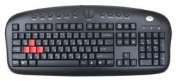 Игровая клавиатура A4Tech KB-28G Black USB