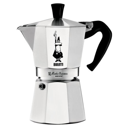 Кофеварка Bialetti Moka Express 1165 (9 чашек) серебристый