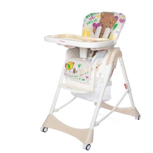 Купить Стульчик для кормления Baby Care Love Bear light beige 18, Стульчики для кормления