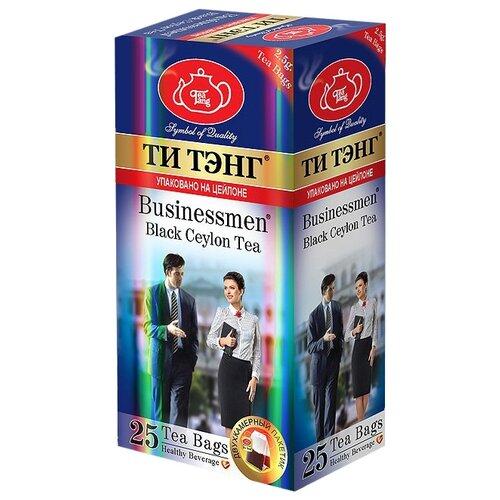 Чай черный Ти Тэнг Bisnessmen в пакетиках, 25 шт.Чай<br>
