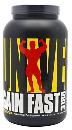 Гейнер Universal Nutrition Gain Fast 3100 (2.31 кг)