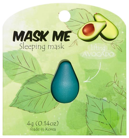 Beauty Bar Подтягивающая ночная маска для лица Mask Me Sleeping Mask Lifting Avocado