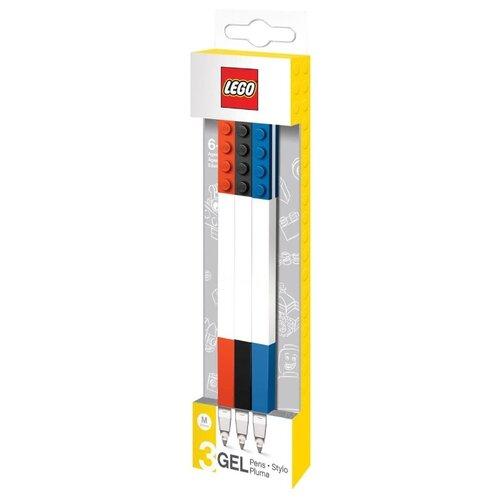 LEGO Набор гелевых ручек 3 шт, M (51513)Ручки<br>