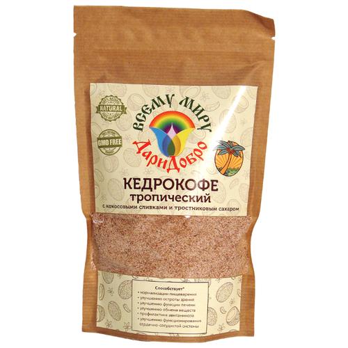 Цикорий ДариДобро Кедрокофе Тропический с кокосовыми сливками и тростниковым сахаром 250 гЦикорий<br>